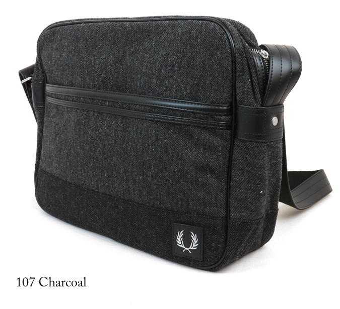 Fred Perry Wool Shoulder Bag 109