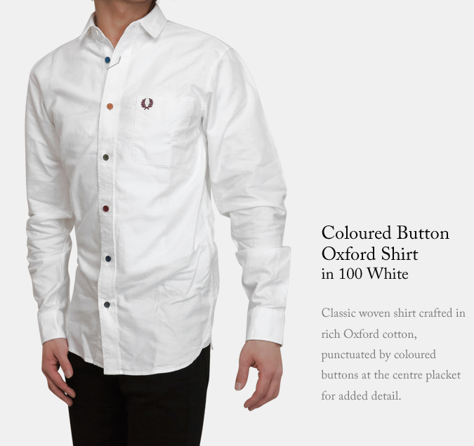 ABBEY CLOZEST | Rakuten Global Market: Fred Perry colored button ...